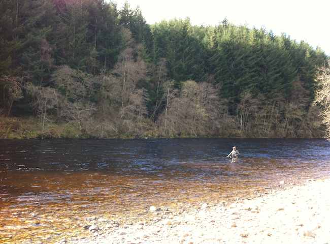 Put Yourself In This Scottish Salmon Fishing Picture